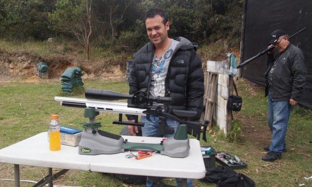 Primeros rifles para FT a 16 julios en el club…. 2013
