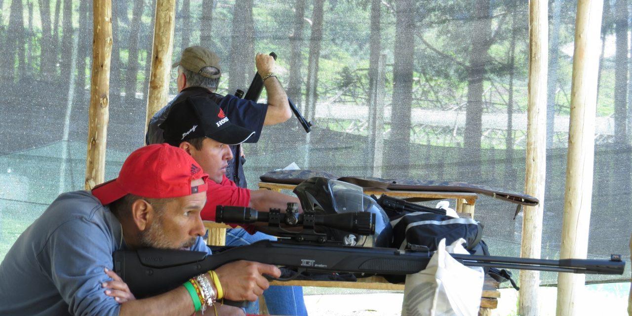 Campo de tiro exclusivo de Field Target Colombia – Enero 2014